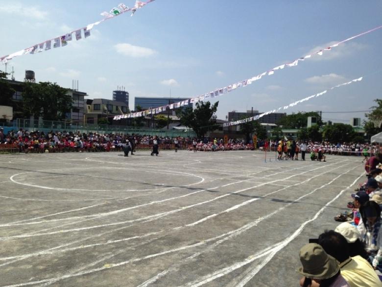 Athletic meet typhoon3