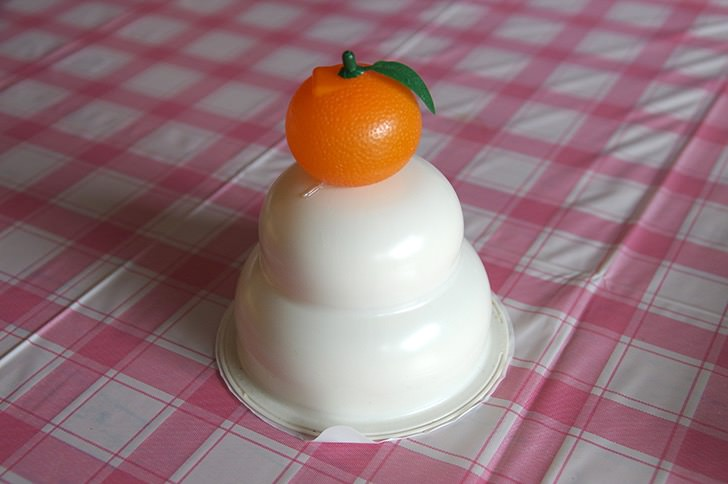 Round rice cake2
